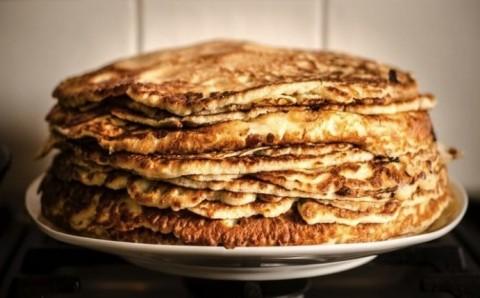Corn and Honey Pancakes