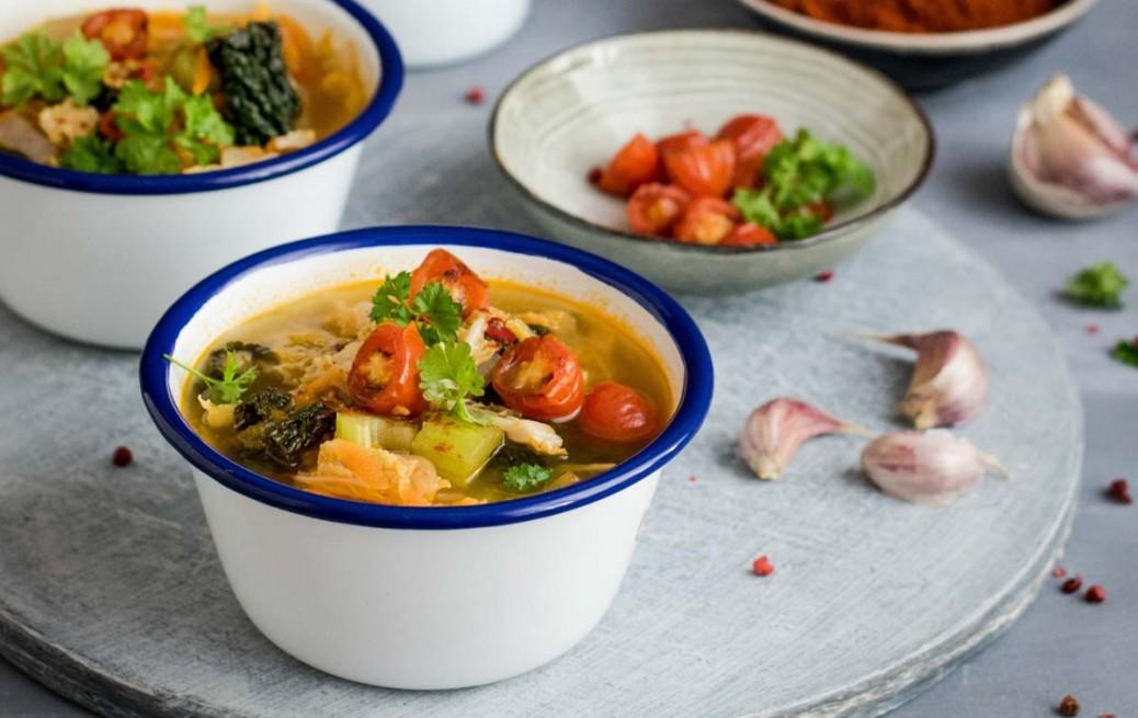 Winter Veggie Soup