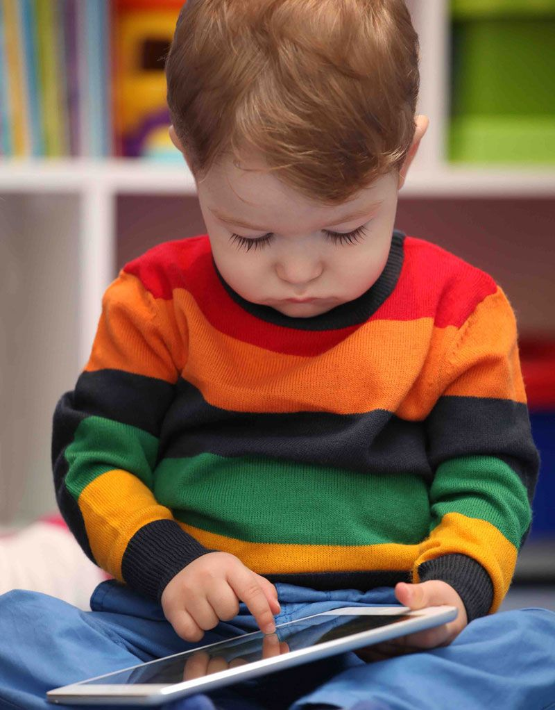 How Much Screen-Time Is Ok for Your Toddler