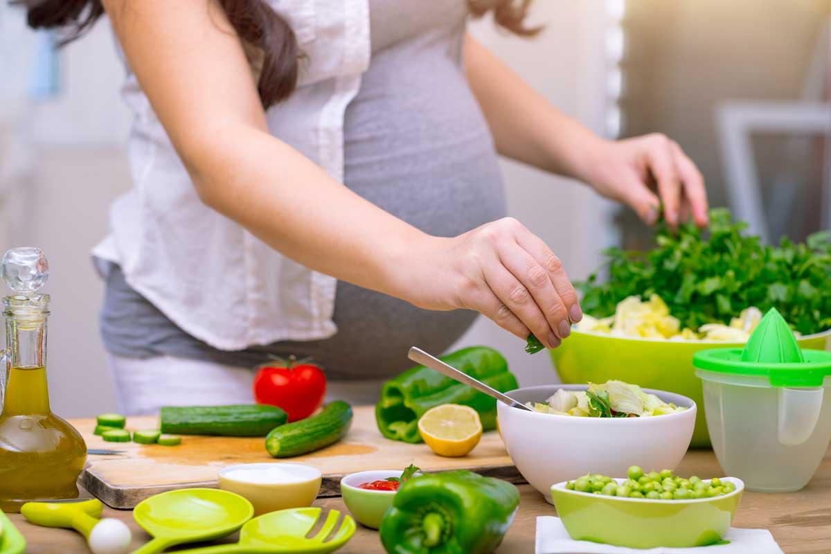 nutrients in the third trimester